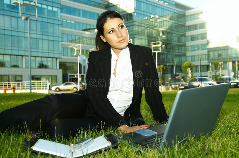 Business Outdoors royalty free stock image