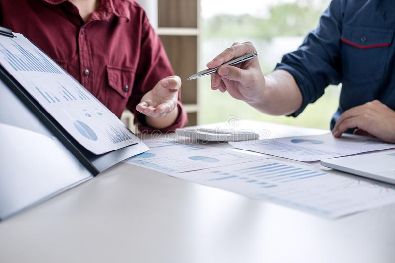 Business partner professional team working together meeting are stock image