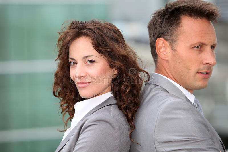 Business partners stock images