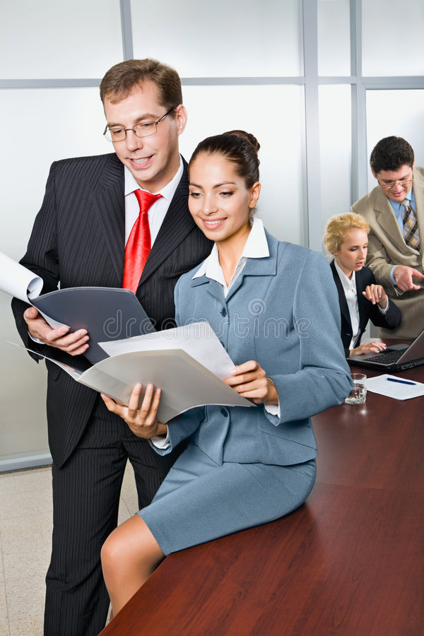 Download Business partners stock image. Image of adult, achievement - 3339395