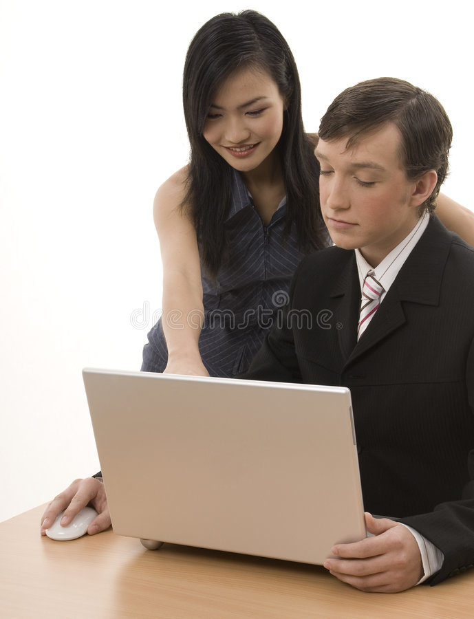 Download Business Partners 7 stock image. Image of asian, isolated - 300107
