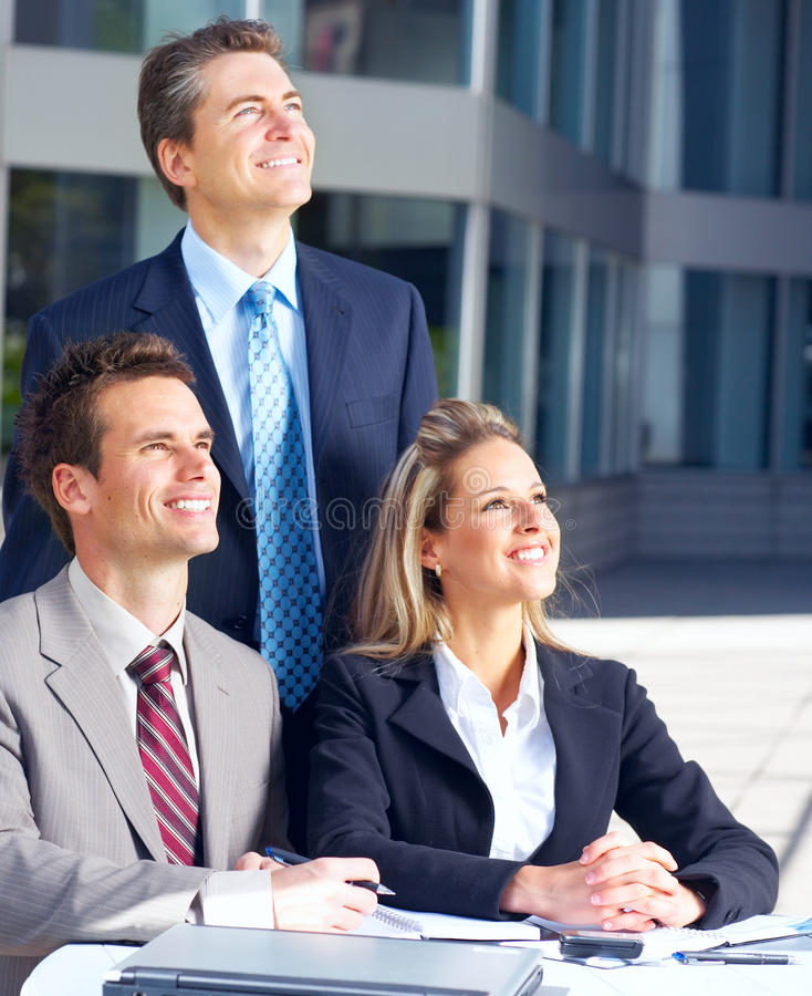 Download Business people stock photo. Image of happy, meet, city - 12365522