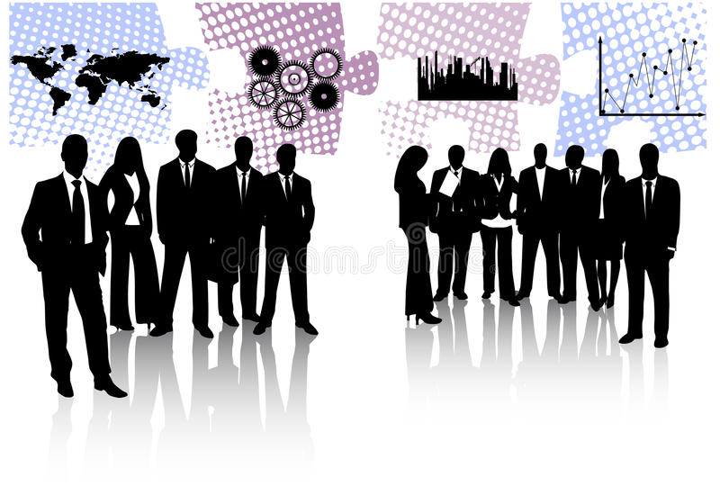 Download Business people stock vector. Illustration of concept - 14647596