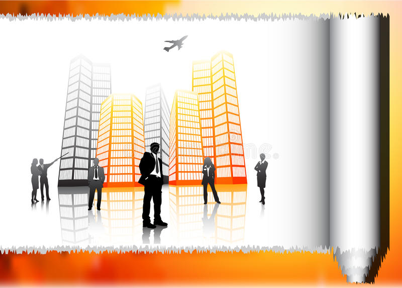 Business people. Illustration of business team.Very useful business concept vector illustration