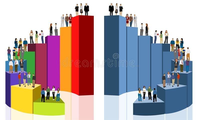 Download Business people stock vector. Image of business, data - 16071674