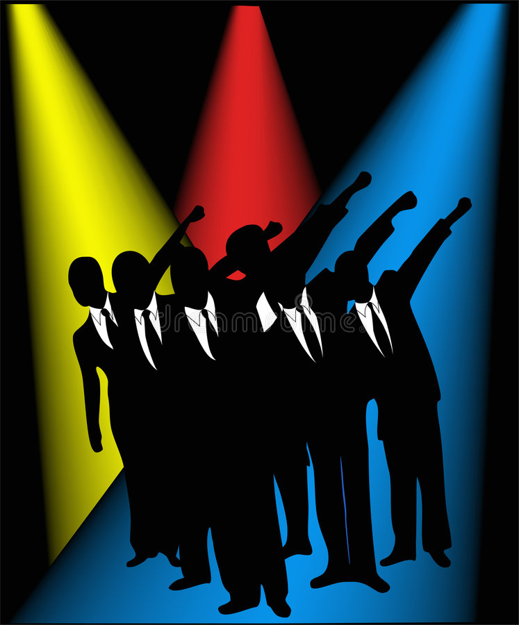 Download Business people stock illustration. Illustration of crowd - 2276437