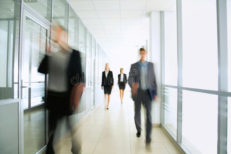 Business people. In modern office royalty free stock images