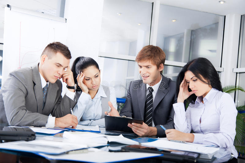 Download Business people stock image. Image of coworker, argue - 27976973