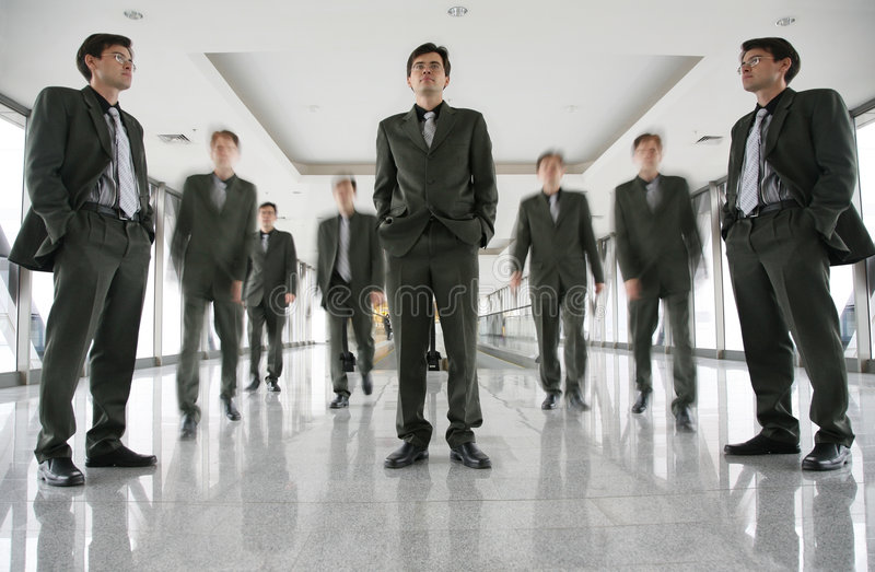 Download Business people stock photo. Image of blurred, inside - 3634188