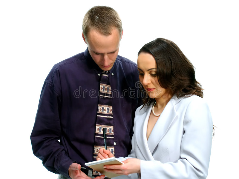 Download Business People 42 stock photo. Image of communication, girl - 75726
