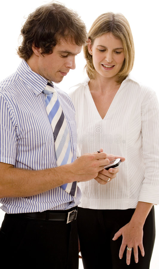 Download Business People stock photo. Image of pair, electronic - 462230