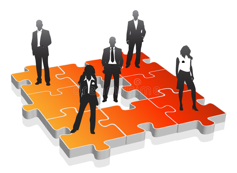 Business people. Vector illustration of business team vector illustration
