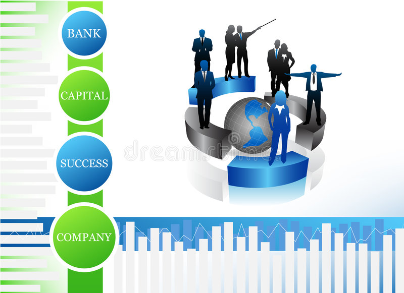 Business people. Vector illustration of business people.... business team concept stock illustration