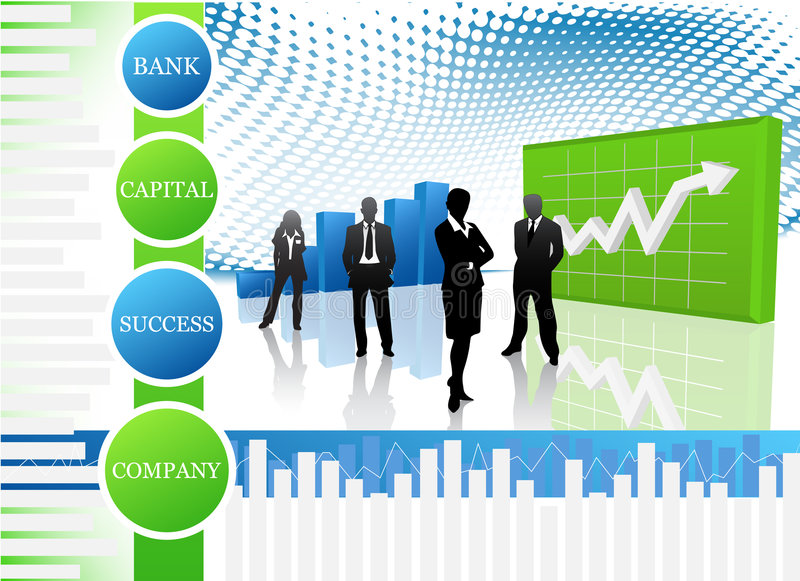 Business people. Vector illustration of business people.... concept of business team vector illustration