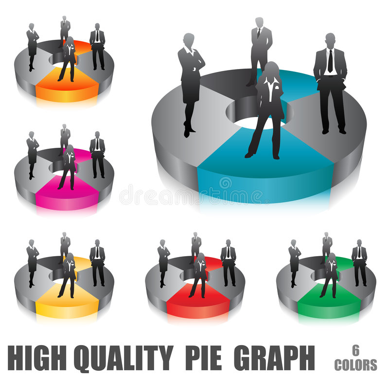 Business people. Vector illustration of business people.... concept of business team royalty free illustration