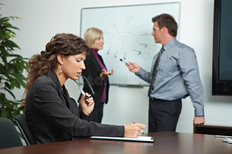 Download Business People Brainstoming In Office Stock Image - Image: 19773627
