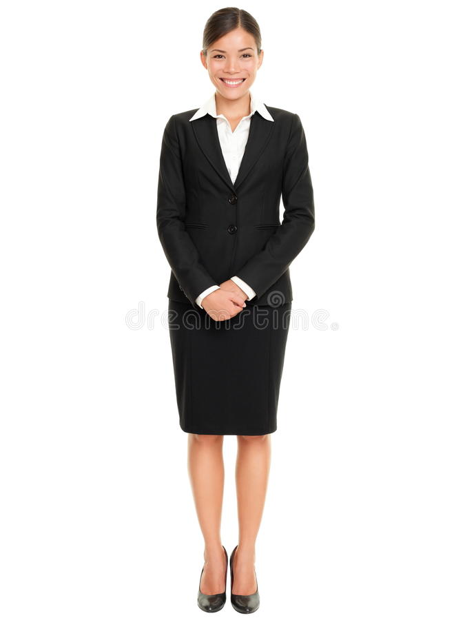 Free Business People - Business Woman Standing Royalty Free Stock Photo - 20729145