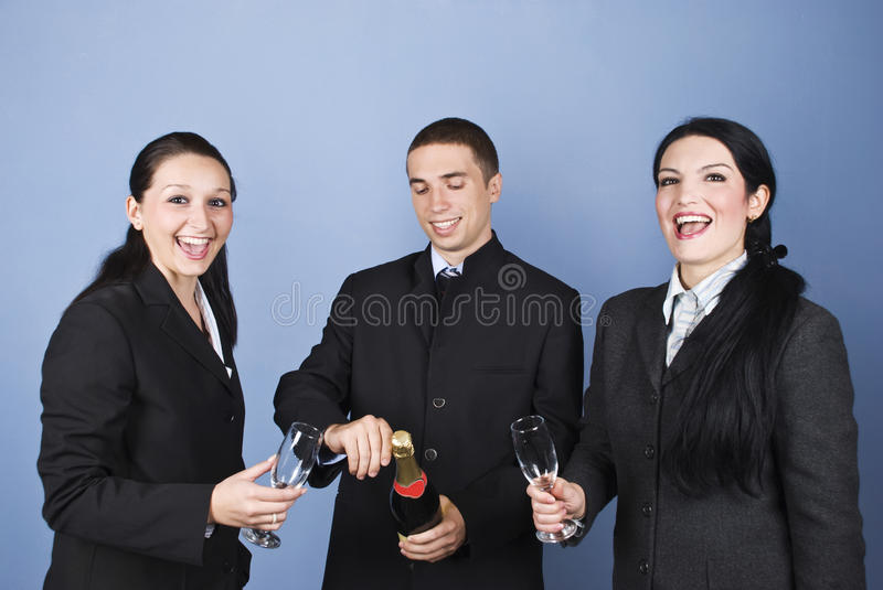 Download Business People Celebrating Their Success Stock Photo - Image: 11711208