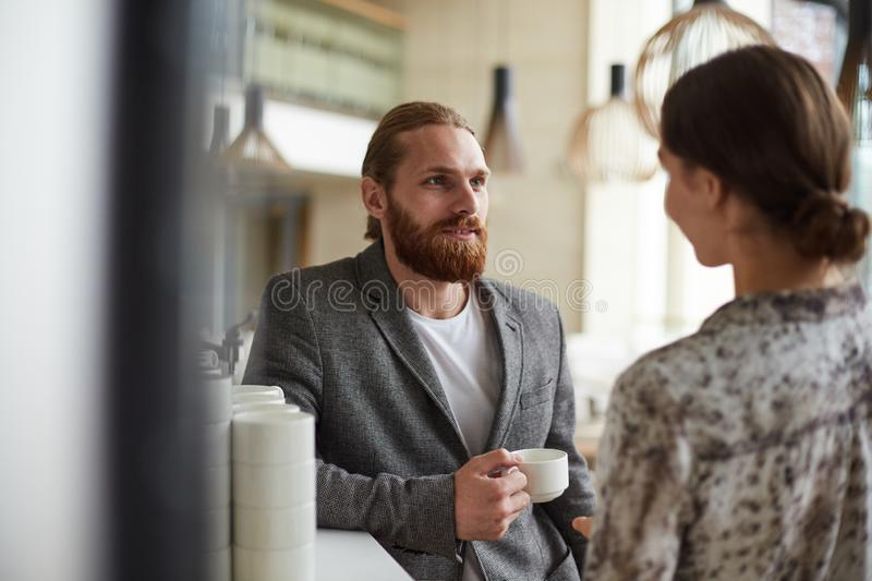 Business People on Coffe Break stock photography