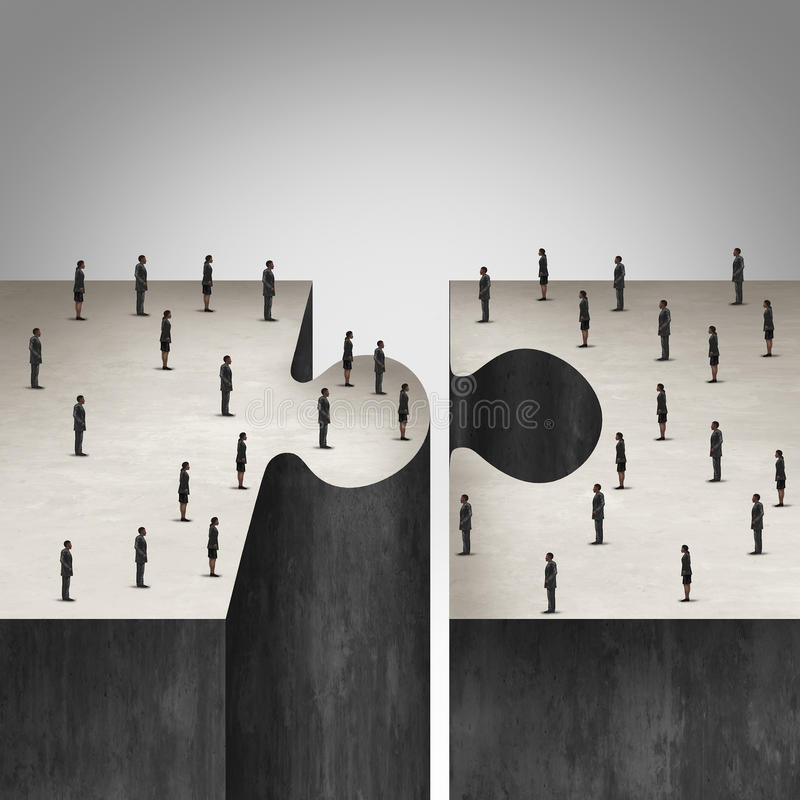 Business People Collaboration stock illustration