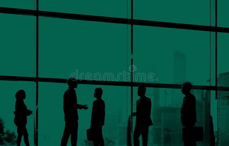 Business People Colleagues Communication Discussion Concept.  royalty free stock image