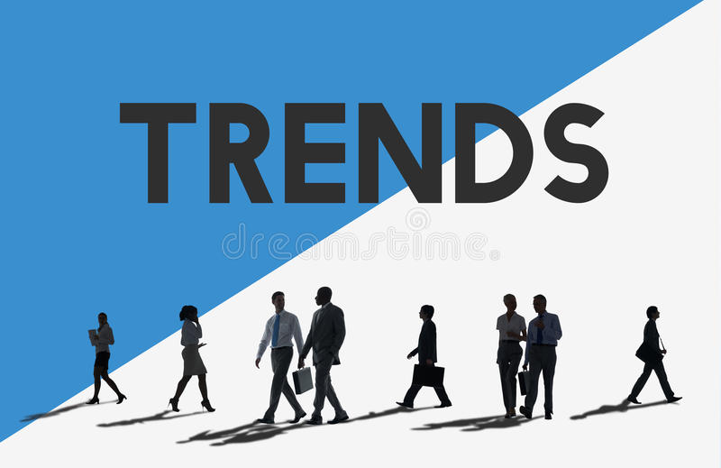 Business People Commuter Trends New Concept.  royalty free stock photos