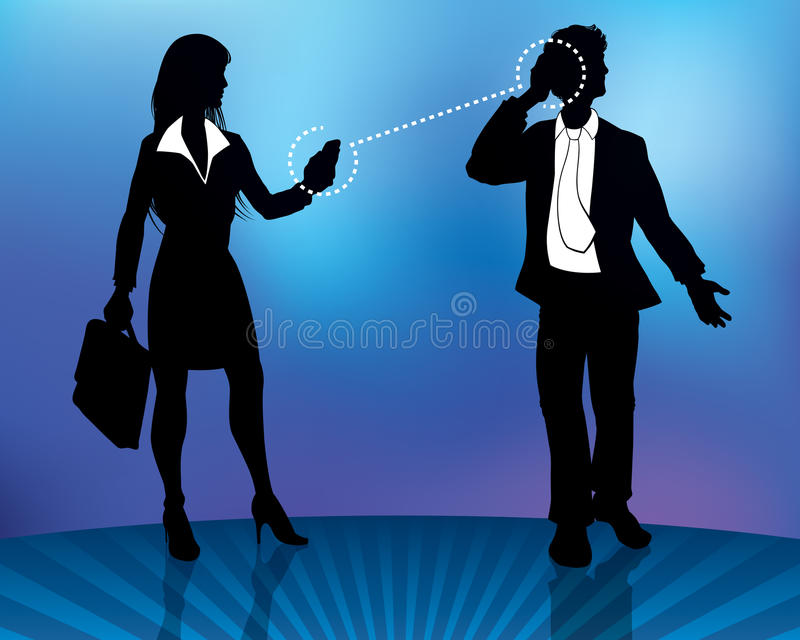 Download Business People Connecting stock vector. Image of standing - 23077878