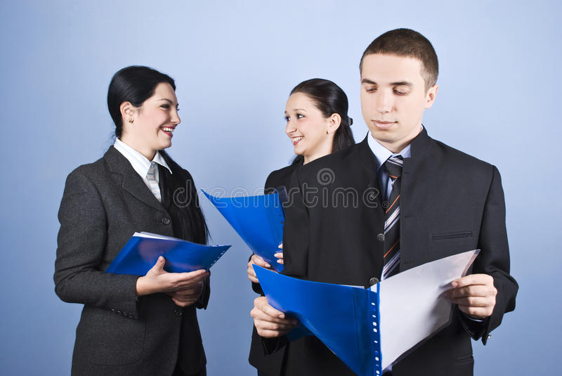 Download Business People With Contract Stock Photo - Image: 11578906