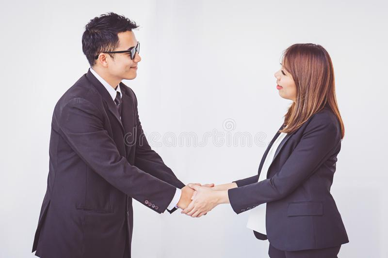 Business people coordinate hands. Concept Teamwork royalty free stock image