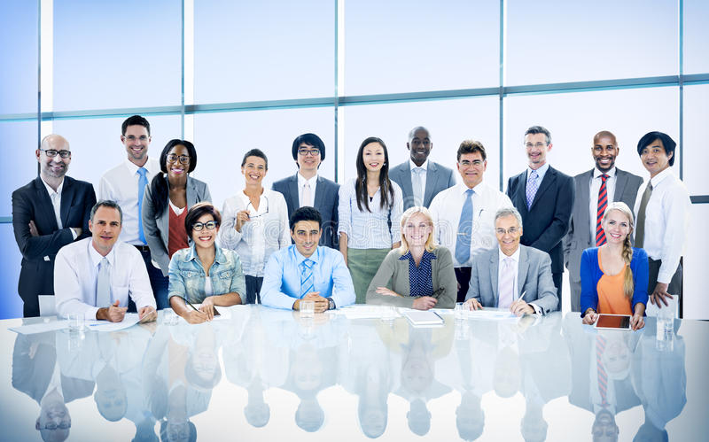 Business People Diversity Team Corporate Professional Concept stock photos