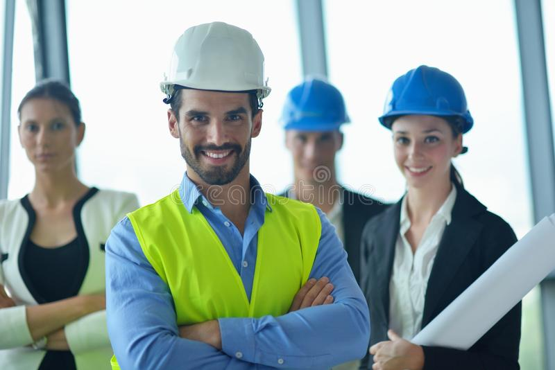 Download Business People And Engineers On Meeting Stock Photo - Image: 33598714
