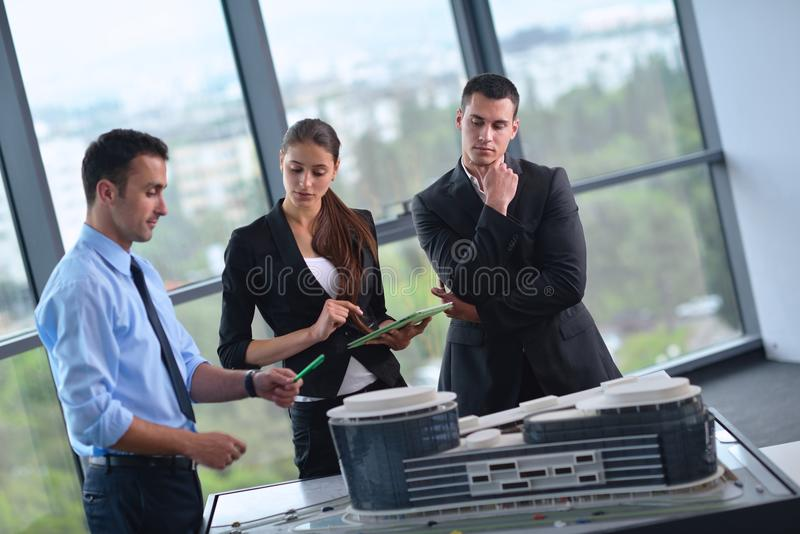 Download Business People And Engineers On Meeting Stock Images - Image: 33600744