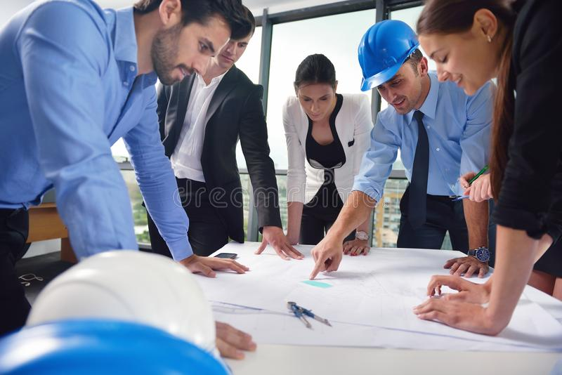 Download Business People And Engineers On Meeting Stock Photo - Image: 33608106