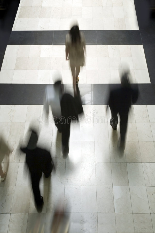 Business people going to work 5