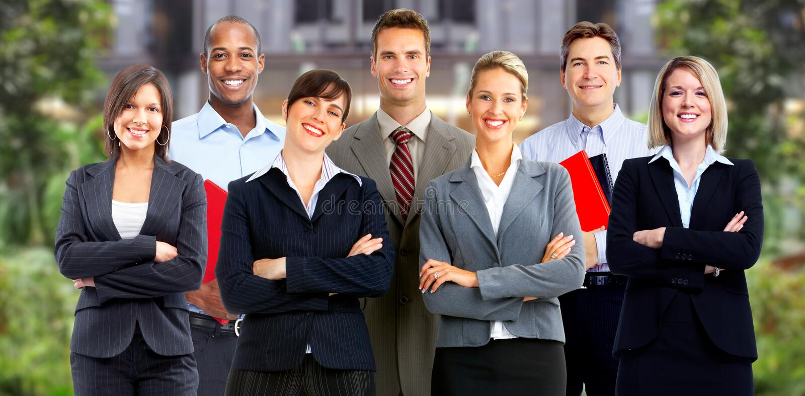 Business people group. royalty free stock photos