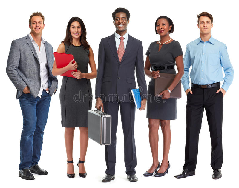 Business people group. stock images