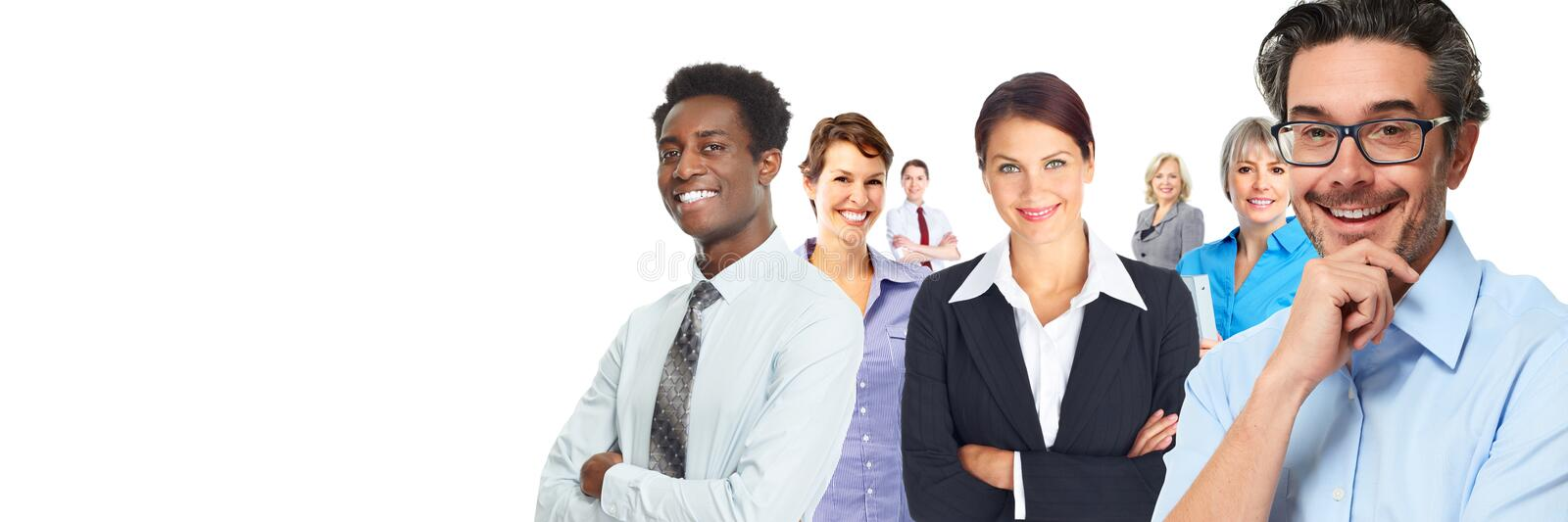 Business people group. stock photo