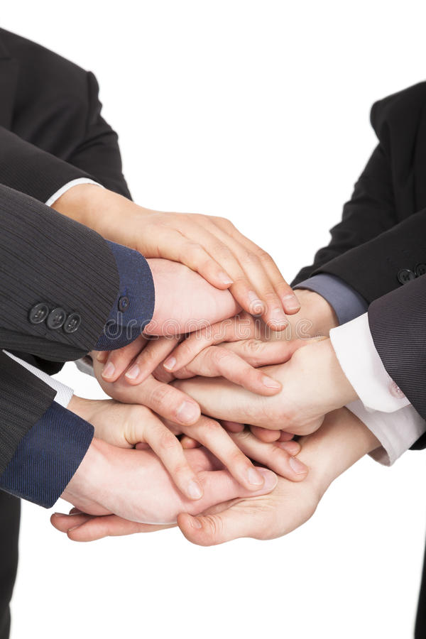 Free Business People Hand Together Royalty Free Stock Photos - 29597168
