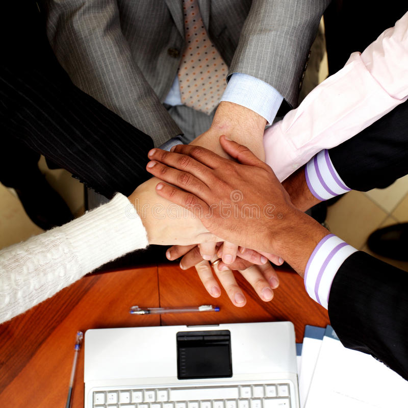 Download Business people hands stock image. Image of companionship - 18577379