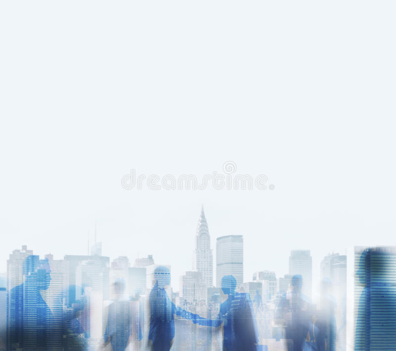 Business People Handshake Agreement Team Concept royalty free stock images