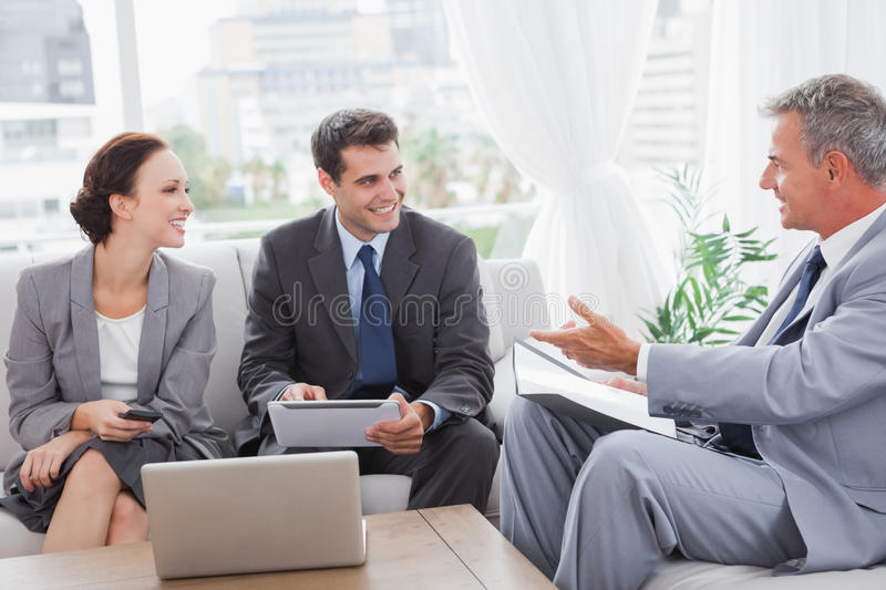 Download Business People Having A Meeting Stock Photo - Image: 33051304