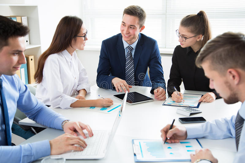 Download Business People Having A Meeting Stock Photo - Image: 83705139