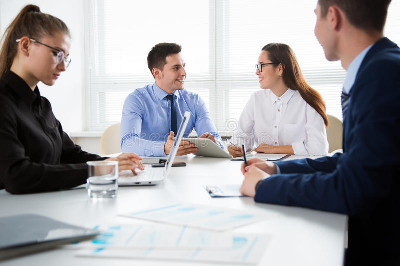 Download Business People Having A Meeting Stock Photo - Image: 83705933