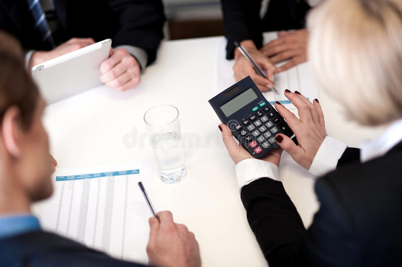 Download Business People Having Meeting Together Stock Photo - Image: 35434180