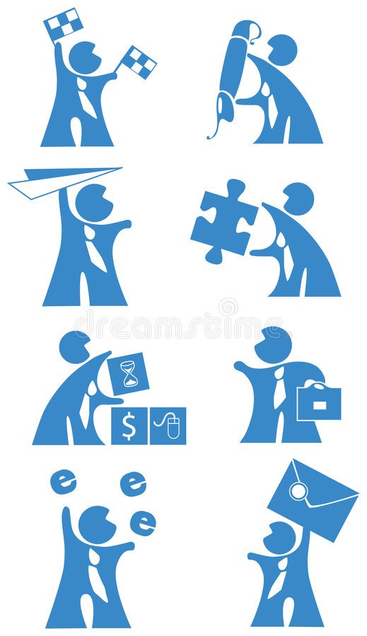 Download Business people - icon stock vector. Image of grafic, illustration - 5673528
