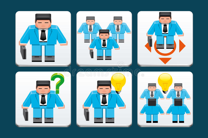 Download Business people  icons stock vector. Illustration of collaboration - 30657938