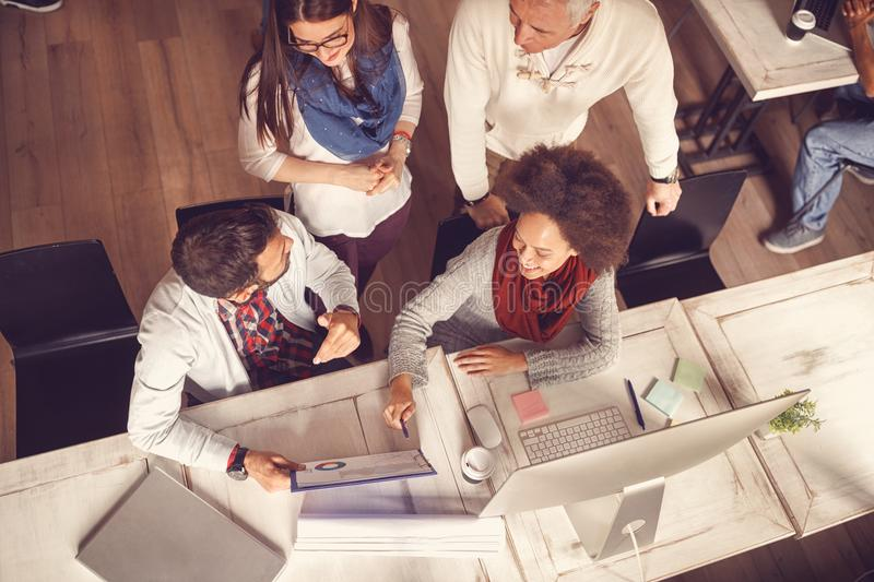 Business people - Ideas, creativity, planning, meeting, office a royalty free stock images