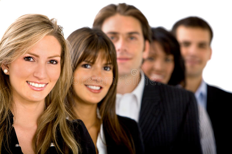 Download Business people isolated stock photo. Image of businessperson - 11713370