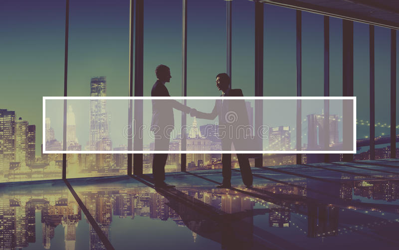 Business People Making Agreement Meeting Concept. Business Handshake Agreement Partnership Corporate Concept royalty free stock photo