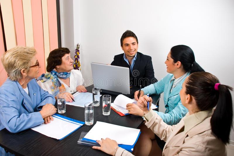 Download Business people meeting stock photo. Image of manager - 14702764